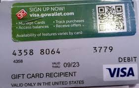 costco visa gift card