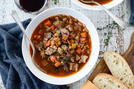 · left over prime rib any amount you like. Leftover Prime Rib And Barley Soup Simply Scratch