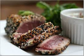 Image result for sesame seared tuna