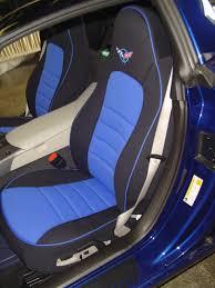 chevrolet corvette half piping seat covers