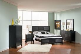 Bedroom : Upholstered Bedroom Set Dark Bedroom Set Black Queen Bed ...