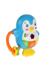 Развивающий Пингвин <b>Умка</b> 18 пес.,сказка,<b>погремушка</b>: цвет ...