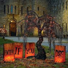 Outdoor Light Up Halloween Tree 45 Gorgeous Outdoor Halloween Design That Easy To Do