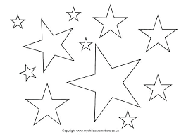 printable star star cut out template large printable star pattern template outline
