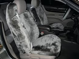 faux leather seat covers for cars sheepskin seat covers