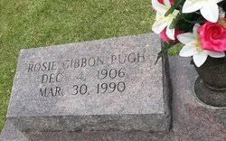 Rosie Odessa Gibbon Pugh (1906-1990) - Find A Grave Memorial