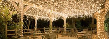covered patio lights. Icicle Lights Hanging Above A Covered Patio Dining Space Covered Patio Lights G