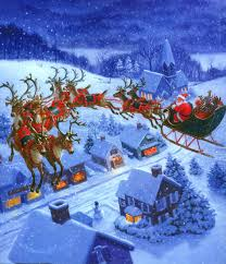 real santa claus and reindeer flying. On Real Santa Claus And Reindeer Flying