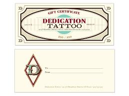 Microsoft Word Templates Gift Certificates Free Tattoo Gift Certificate Template Download Free Clip Art Free