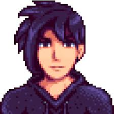 Image result for stardew valley sebastian and maru