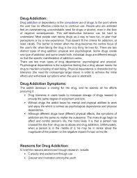 essay on drug addiction among n youth drug abuse among n youth causes symptoms solutions