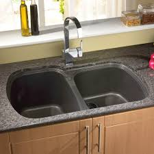 Swan Granite Kitchen Sink Splendid Design Ideas Using Cream Tile Backsplash And Silver