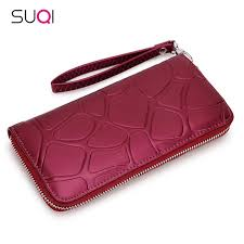 2018 fashion women wallet paint leather purse female casual best wallet case phone pocket portefeuille femme carteira feminina branded wallets purses and
