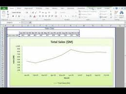 Excel Charts Tutorial Creating And Formatting Charts