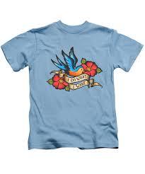 Tattoo Flash Kids T Shirts Fine Art America