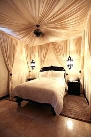 Moroccan Canopy Bed Style Bedroom In All Diy Moroccan Bed Canopy ...