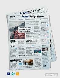 23 Free Newspaper Templates Psd Doc Pdf Ppt Free