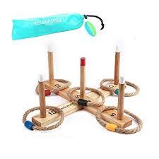 Wooden Hoop Game