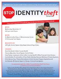 flyers forum identity theft forum scheduled carrie kerskie