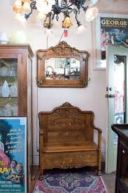 Quarter Sawn Oak Bedroom Furniture Super Quarter Sawn Oak Hall Bench With Matching Mirror With Hooks