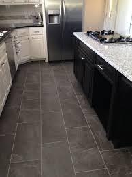 kitchen floor tiles small space: slate look kitchen tile floor  slate look kitchen tile floor