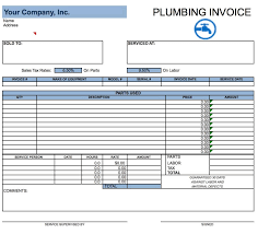 Microsoft Job Description Templates Free Plumbing Invoice Template Pdf Word Excel