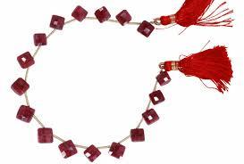 ruby beads