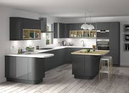 B&q Kitchens Brochure Howdens Gloss White Integrated Handle Price Magnet Replacement  Kitchen Doors Homebase Kitchen Cupboard Doors