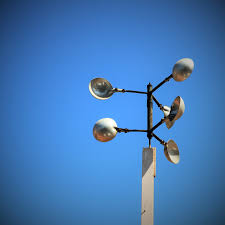 light sky sun sunlight weather blue street light lamp lighting circle pinwheel weather vane light fixture