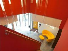 verkerk group contemporary office building colorful interior and furniture building office furniture