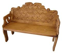 image rustic mexican furniture. Woven Mexican Bench | Style Furniture Home Decor Image Rustic U