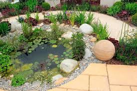 Round rock gardens Landscaping Ideas Small Pond Is Great Accompaniment To Rock Garden Rocks Look Perfect Around The Spruce 32 Backyard Rock Garden Ideas