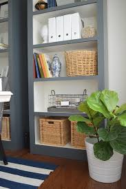 diy office shelves. DIY Book Shelves In Home Office Makeover Diy H
