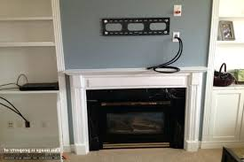 how to mount tv over fireplace and hide wires wall mount installation with wire concealment over how to mount tv over fireplace