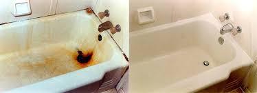 resurfacing a bathtub bathtub refinish before after reglaze bathtub cost nyc resurfacing a bathtub