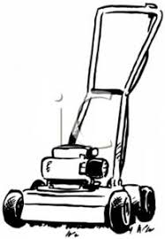 lawn mower clipart black and white. lawn mower clipart black and white e