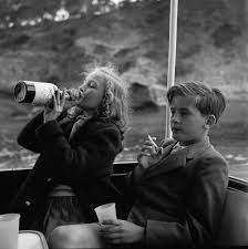 Princess Yvonne & Prince Alexander, 1955 — PiqueShow