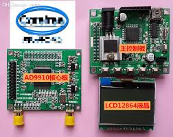 whole ad9910 module v2 0 dds signal generator source development board rf signal source support parallel sweep digital fm source tunes source cd