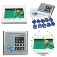security rfid proximity entry door lock access control system  security rfid proximity entry door lock access control system 500 user 10 rfid keyfobs