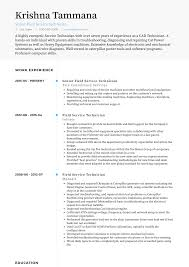 computer support technician resume field service technician resume samples and templates