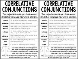 70 Disclosed Subordinate Conjunctions Anchor Chart 3rd Grade