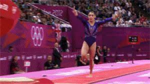 Vault gymnastics mckayla maroney Gif Gif Gymnastics Mckayla Maroney Aly Raisman Best Animated Gifs London 2012 Vault Gifer Gymnastics Olympics Aly Raisman Gif On Gifer By Cori
