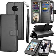 galaxy s7 edge case s7 edge wallet case samsung galaxy s7 edge pu leather case tekcoo luxury cash credit card slots holder carrying folio flip
