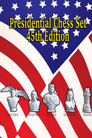 Presidential Chess Set 45th Edition
