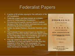 political philosophy behind constitution federalist papers and lead  federalist papersfederalist papers