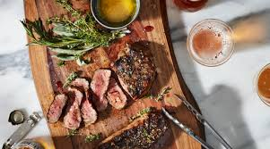 pan roasted n y strip steak fresh catch