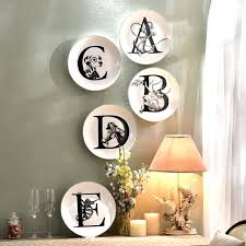 style ceramic decorative hanging plates animal letters wall hanging living room wall decoration vast decorative plates famous decorative plates for wall