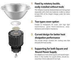 most competitive 60w 100w 150w 200w led high bay light warehouse lighting 150w 200w led high bay light with motion sensor dimming for