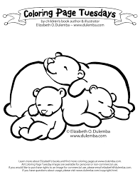 Small Picture sleeping bear Colouring Pages sleeping bear coloring page isrs2011
