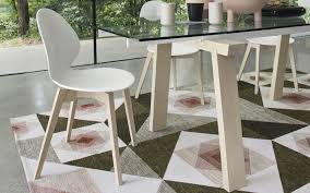 Basil Design Studio Contemporary Chair Ergonomic Wooden Leather